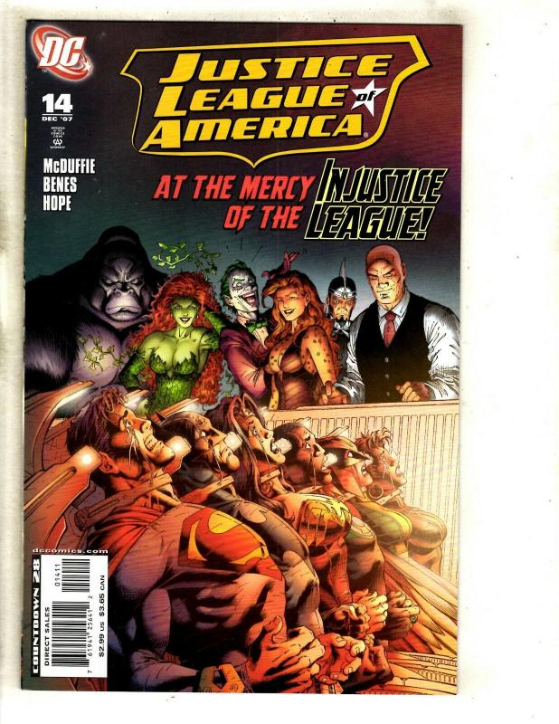 11 Justice League of America DC Comics # 10 11 12 13 14 15 16 17 18 19 + CJ5
