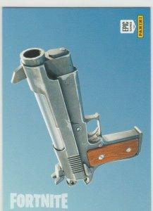 Fortnite Pistol 105 Uncommon Weapon Panini 2019 trading card series 1