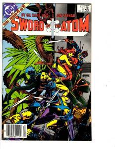 4 DC Comics Sword of the Atom#4 Armageddon Inferno #3 Ragman #4 A Bizarro #1 JB3