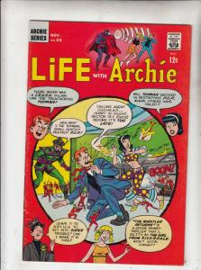 Life with Archie #55 (Nov-66) VF/NM- High-Grade Archie, Jughead, Betty, Veron...