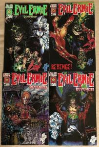 EVIL ERNIE : REVENGE - Complete Four (4) Issue Mini-Series - #1, #2, #3, #4