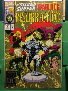 The Silver Surfer/Warlock: Resurrection #1