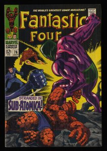 Fantastic Four #76 FN- 5.5 Marvel Comics