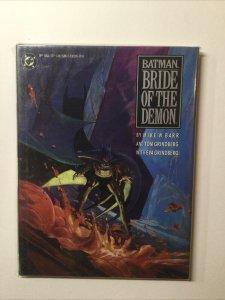 Batman Bride of The Demon Hardcover Hc Near Mint Nm Oversized Tpb DC Comics