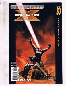 Lot of 5 Ultimate X-Men Marvel Comic Books #30 31 32 33 34 AK8