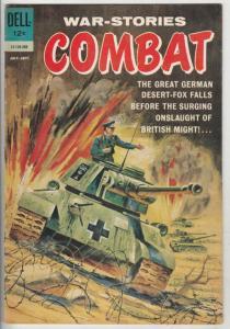 Combat, War-Stories #5 (Jul-62) VF/NM High-Grade Erwin Rommel, Napolean