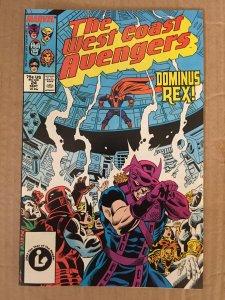 The West Coast Avengers #24