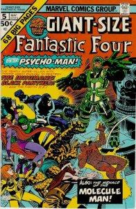 Giant-Size Fantastic Four #5 (ungraded) stock photo / 002