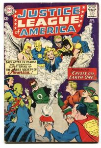 Justice League of America #21 1961-DC-Crisis-Dr Fate-Superman VG+