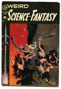 Weird Science-Fantasy #29 1954 Frank Frazetta cover-EC comic