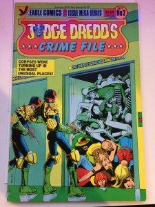 Judge Dredd's Crime File #2 Eagle Comics NM 1985 Mega Series