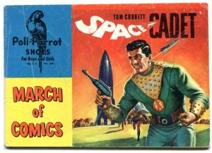 March of Comics #102 1953- Tom Corbett Space Cadet- Poll Parrot promo comic