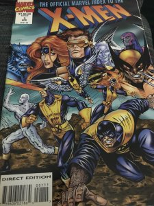 Marvel The Official Index To The X-Men #1 Mint Hot