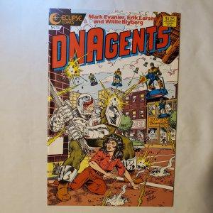 New DNAgents 13 Very Fine+ Art by Erik Larsen