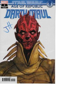 Star Wars: Age of the Republic: Darth Maul #1 CONCEPT VARIANT signed Jody Houser