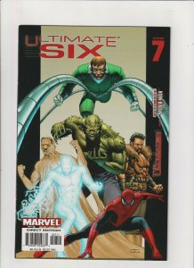 Ultimate Six #7 NM- 9.2 Marvel Comics Ultimate Spider-man & The Ultimates