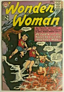 WONDER WOMAN#129  FR 1962 DC SILVER AGE COMICS