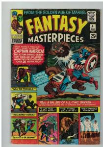 FANTASY MASTERPIECES  VG (1966 1ST)   4, Gold Age