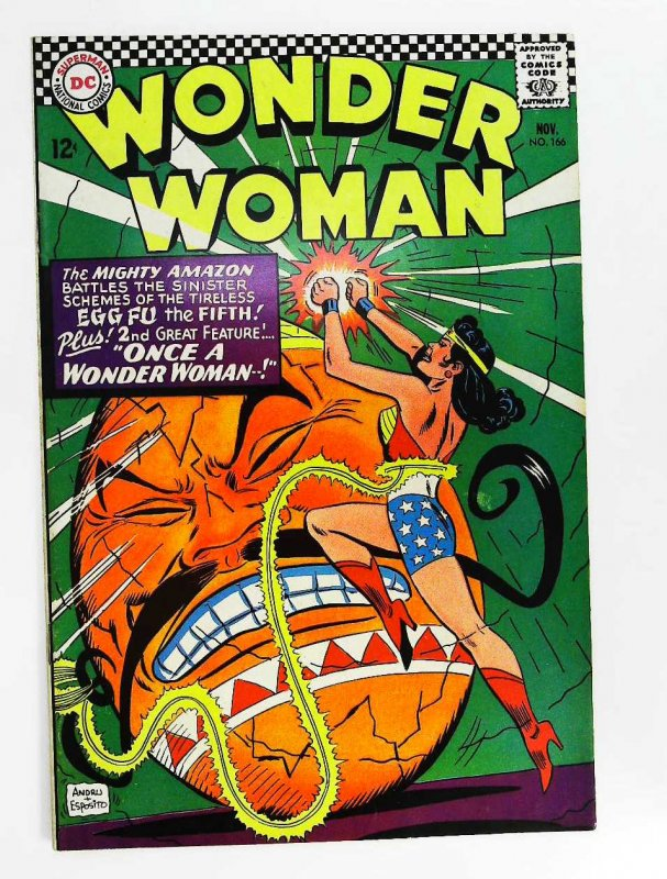 Wonder Woman (1942 series) #166, Fine+ (Actual scan)