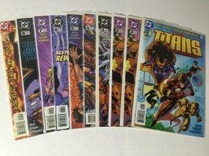 Titans 1-50 1999 Missing Issue #55 Lot Set Run Nm Near Mint Dc