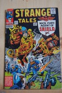 Strange Tales #142, Nick Fury, Dr. Strange