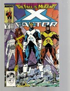 12 Marvel Comic Books X-Factor # 26 27 28 29 30 31 32 33 34 35 36 37 GK41