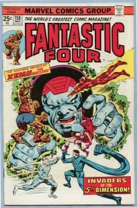 Fantastic Four 158 May 1975 FI- (5.5)