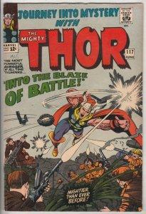 Journey into Mystery #117 (Jun-65) VG/FN Mid-Grade Thor