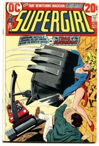 SUPERGIRL #1 comic book 1972-First issue-DC bronze age Zatanna VF