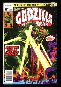 Godzilla #2 NM+ 9.6