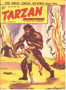 TARZAN ADVENTURES V 8#32 F-VF Nov. 1958 COMICS BOOK