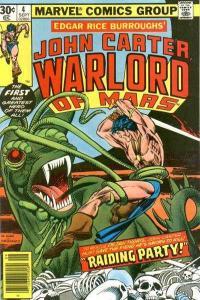 John Carter: Warlord of Mars (1977 series) #4, VF- (Stock photo)