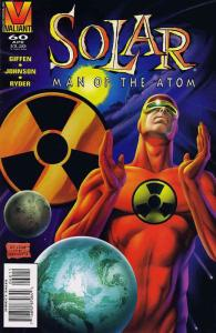 Solar, Man of the Atom #60 VF; Valiant | save on shipping - details inside