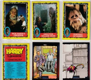 Harry and The Hendersons/Dark Dominion Trading cards