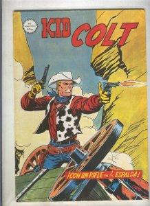Kid Colt numero 02: Con un rifle en la espalda