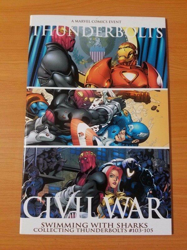Civil War: Thunderbolts Swimming With Sharks #1 ~ NEAR MINT NM ~ (2006, Marvel)
