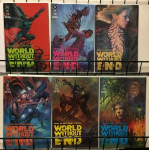 WORLD WITHOUT END (1990) 1-6 THE SET! Delano/ Higgins