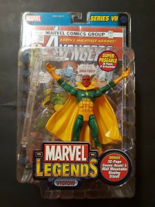 Marvel Legends Series VII Vision Figure - Toy Biz - Sealed MOC
