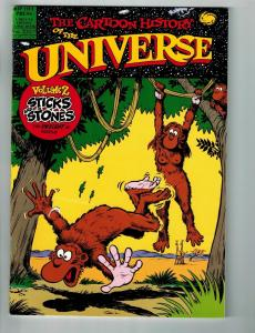 The Cartoon History Of The Universe # 2 VF/NM Rip Off Press Comic Book S77