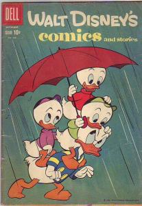 Comics and Stories, Walt Disney's #240 (Sep-60) VG+ Affordable-Grade Donald D...