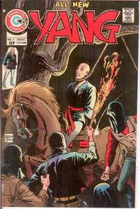 YANG (1973-1976 CH) 4 VF Sept. 1974 COMICS BOOK