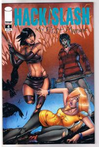 HACK SLASH MY FIRST MANIAC #4 A, NM, Tim Seeley,2010,Serial Killer,more in store