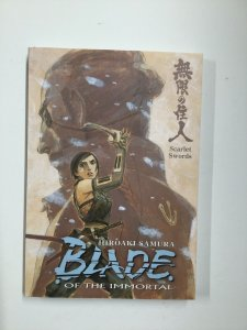 Blade Of The Immortal Scarlet Swords Tpb Softcover Sc Near Mint Nm Dark Horse