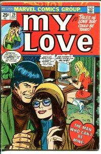 My Love #29 1974-Marvel-romance stories-spicy interior art-VG