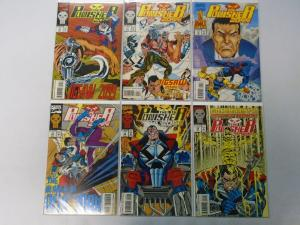 Punisher 2099, Lot, From:#1-18, 12 Different, 8.0/VF (1993+1994)