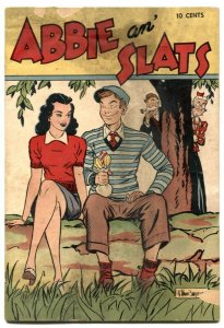 Treasury of Comics #1 1948- Abbie an' Slats- G