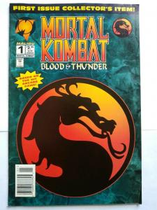 Mortal Kombat #1 (Jul 1994, Malibu) HTF - LOW GRADE