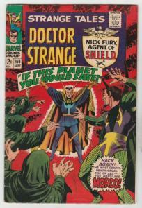 Strange Tales #160 (Sep-67) FN+ Mid-High-Grade Nick Fury, Dr. Strange