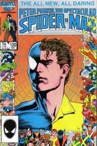 Spectacular Spider-Man (1976 series) #120, NM- (Stock photo)