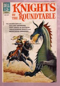 KNIGHTS OF THE ROUND TABLE #1 1964- SIR LANCELOT-DELL- G/VG